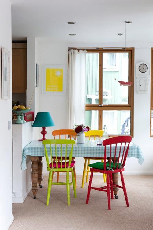 Emejing Sillas De Colores Para Comedor Contemporary - Casas: Ideas ...